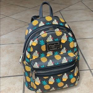 Pineapple Dole whip Loungefly backpack
